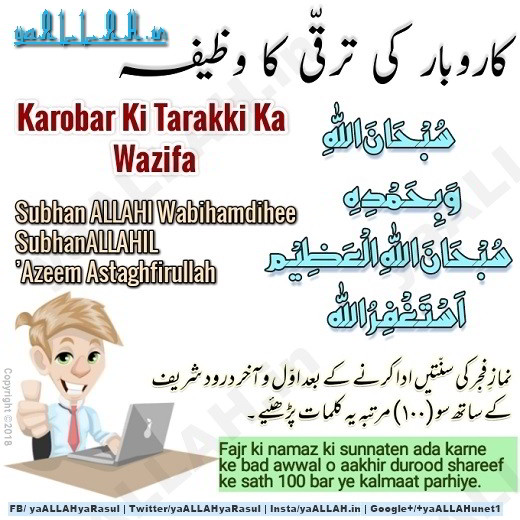 Dua For Success in Life Business Job