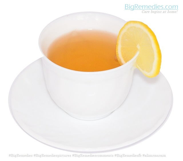 Hot lemon juice -BigRemedies